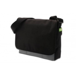 KIT BORSA PER NOTEBOOK O TABLET + MINI MOUSE OTTICO CON CAVO RETRATTILE COLORE NERO
