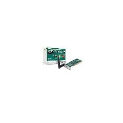 SCHEDA WIRELESS LAN PCI 150 MBPS CON ANTENNE ESTERNE 150N
