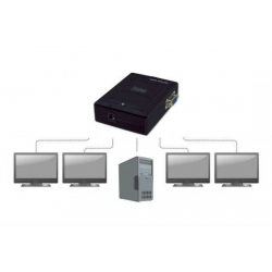 VIDEO SPLITTER COMPATTO PER 4 MONITOR VGA
