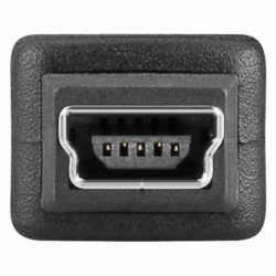 ADATTATORE USB 2.0 CONNETTORI MICRO B MASCHIO - MINI B FEMMINA