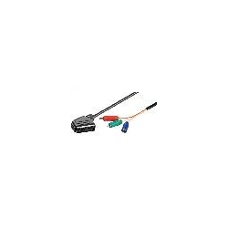 CAVO SCART-RGB MT 1 CAVO VIDEO SCART - 3XRCA (RGB) MT 1