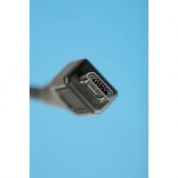 """CAVO DI CONNESSIONE MICRO USB 2.0 """"B"""" MT. 0,6 SCHERMATO"""