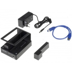 "DOCKING STATION USB 3.0 PER 2 HARD DISK 2,5"" + 3,5"" SATA"