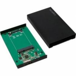 """BOX ESTERNO USB 3.0 PER SSD 1,8"""" mSATA"""