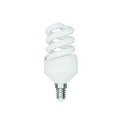 *LAMPADA A RISPARMIO ENERGETICO 11 WATT LUCE FREDDA (6400K) E14 MINI-SPIRALE