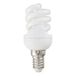 *LAMPADA A RISPARMIO ENERGETICO 7 WATT LUCE CALDA ( 2700K) E14 MICRO SPIRALE