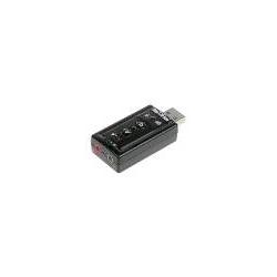 ADATTATORE USB-AUDIO PER MICROFONO, CASSE O CUFFIE