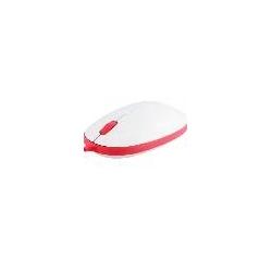 MOUSE OTTICO USB COLORE ROSSO 800/1600 DPI REGOLABILE