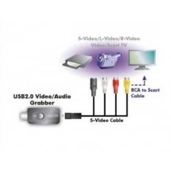 ADATTATORE USB 2.0 VIDEO GRABBER