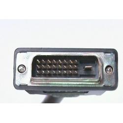 CAVO PROLUNGA MONITOR DVI-D DUAL LINK 24+1 MASCHIO/FEMMINA MT.5 (AK-110032)