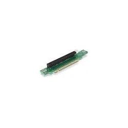 RISER CARD PCI-EXPRESS X16 ANGOLATO 90° INSERIMENTO A SINISTRA