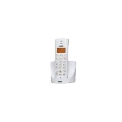 TELEFONO CORDLESS DECT GAP DISPLAY LCD 14 SEGMENTI RETROILLUMINATO FALCO BIANCO