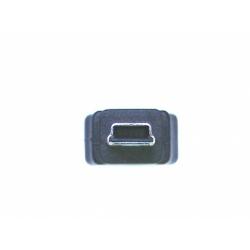 """CAVO ADATTATORE USB 2.0 OTG, CONNETTORI MINI USB """"B"""" MASCHIO - USB """"A"""" FEMMINA, 20 CM"""