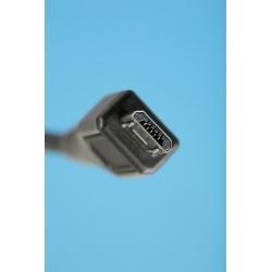"""CAVO DI CONNESSIONE MICRO USB 2.0 """"B"""" - LUNGHEZZA MT. 1,80 SCHERMATO"""