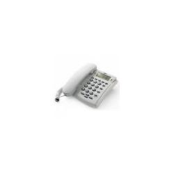 TELEFONO MULTIFUNZIONE - VIVAVOCE - IDENTIFICATORE DEL CHIAMANTE - CONCERTO 1 ECO GRIGIO CHIARO