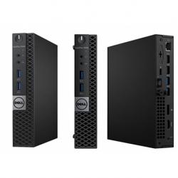 OPTIPLEX 3040 MFF I3-6100 4GB 500GB W10PRO BLACK