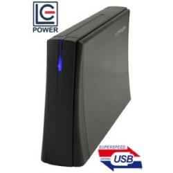 BOX HDD 3.5 SATA3 BLACK USB3.0 BLACK