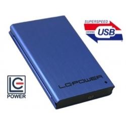 BOX HDD 2.5 SATA2 SLIM USB3.0 UP TO 12.5MM BLUE