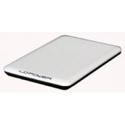 BOX HDD 2.5 SATA ULTRASLIM USB2.0 WHITE