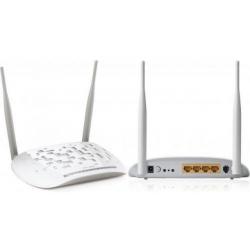 ROUTER ADSL2/2+ WIRELESS 4 PORTE ANTENNE NON RIMOVIBILI