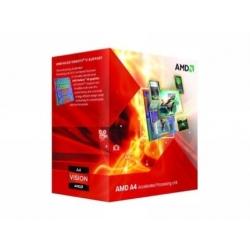 APU A4 X2 3300 2.5GHZ 1MB HD6410D FM1 BOX