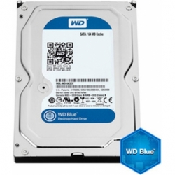 HDD 3TB 5400RPM 3.5 SATA 64MB WD BLUE