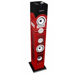 CASSA A TORRE BASS 60W SUBWOOFER BLUETOOTH 2.1 FM/USB/SD/MMC AUX UK TRADITIONAL IMAGE
