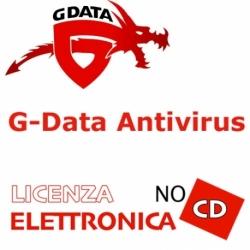 G-DATA ANTIVIRUS 2PC 12 MESI LIC ELETTRONICA