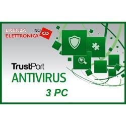 TRUSTPORT ANTIVIRUS 3PC 12 MESI LIC ELETTRONICA