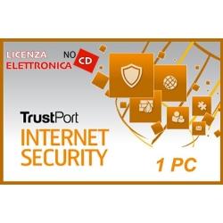 TRUSTPORT INTERNET SECURITY 1PC LIC ELETTRONICA