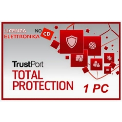 TRUSTPORT TOTAL PROTECTION 1PC 12 MESI LIC ELETTRONICA