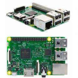 RASPBERRY PI 3 B QUAD CORE BCM2837 1.2GHZ 1GB ETH/WIFI BLUETOOTH 4XUSB2.0 HDMI MICRO USB