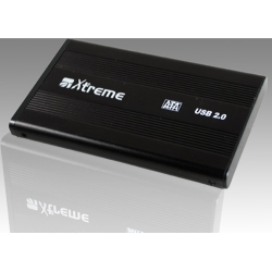 BOX HDD 2.5 SATA USB2.0 + TRAVEL BAG MULTICOLOR