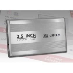 BOX X HDD 3.5 USB3.0 SILVER EXTERNAL