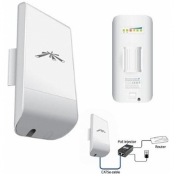 ACCESS POINT AP/CLIENT/WDS NANOSTATION LOCO M5-CPE POE 5GHZ 23DBM OUTDOOR