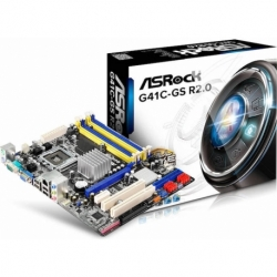 G41C-GS R2.0 INTEL M-ATX DDR2/3 SATA3 USB 2.0 SK775 VGA