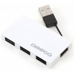 HUB USB2.0 4 PORTE WHITE