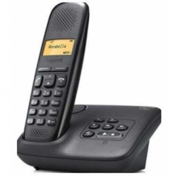 TELEFONO CORDLESS A150 DISPLAY 1.4 POLLICI VIVAVOCE CON BASE BLACK