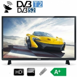 TV LED 28 HD DVB-T2 HDMI BLACK