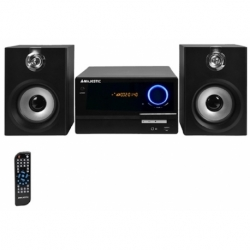 STEREO MICRO HIFI BLUETOOTH CD/MP3 FM USB/RCA BLACK