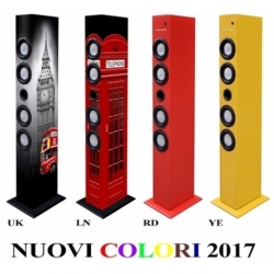 CASSA A TORRE BASS 30W SUBWOOFER BLUETOOTH 2.1 FM/USB/SD/MMC AUX UK TRADITIONAL IMAGE