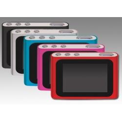 LETTORE MP3/MP4 DISPLAY 1.8 A COLORI MUSB CON M.SD 8GB BLUE