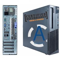 M77 SFF AMD X2-220@2.8GHZ 4GB 320GB W7PRO DVD-RW REFURBISHED GAR@6MESI CON SCATOLA GRADO A