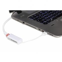 ADATTATORE USB/RJ45 PER RETE 10/100 USB 2.0