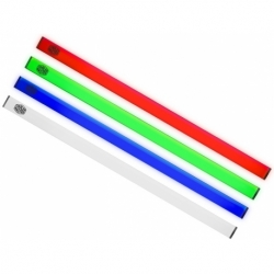 UNIVERSAL STRIP LED IN ALLUMINIO CON GRIP MAGNETICA CONFEZIONE DA 2 PEZZI RED