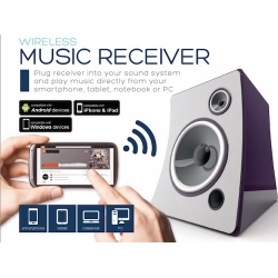 WI-FI MUSIC STREAMER COLLEGA HI-FI CON PC E DEVICE IOS/ANDR
