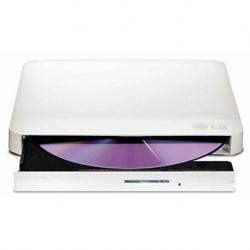 DVD-RW ESTERNO ULTRA SLIM 24X16X 8X 5X USB2.0 WHITE