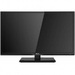 TV LED 24 HD DVB-T2 HDMI HOTEL TV BLACK