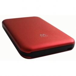 BOX PER HD/SSD 2.5 SATA 12.5MM USB 2.0 SENZA VITI RED