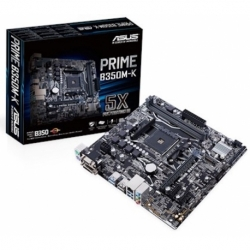 PRIME B350M-K U-ATX DDR4 SATA3 M.2 USB3.0 AM4 VGA DVI